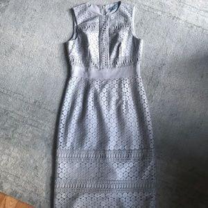 Grey lace Antonio Melani dress